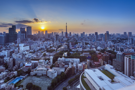 Tokyo skyline 写真素材