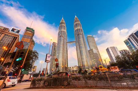 lumpur: View of Petronas Tower, KL, Malaysia
