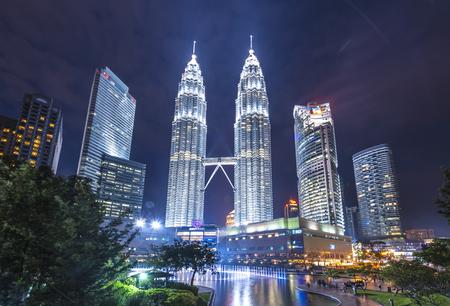 Petronas Twin tower, KL, Malaysia 報道画像