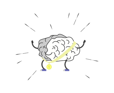 The brain is engaged in training. It took first place