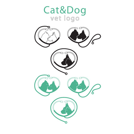 Template this logo could be use as logo of pet shop, pet clinic, or others