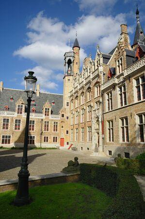 Buildings in Brugge, Belgium