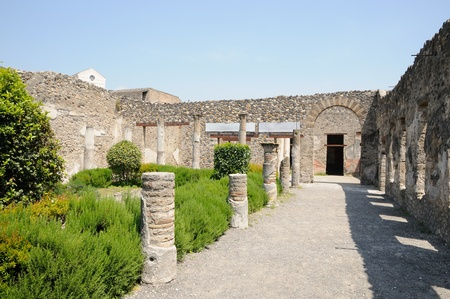 Ruins of Pompeii photo