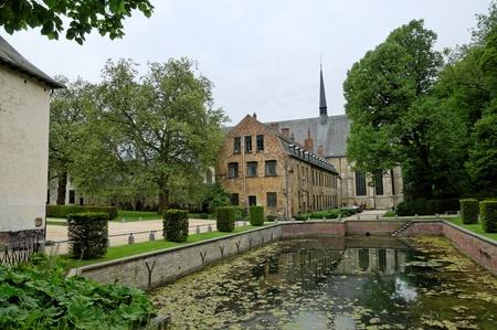 abbaye: Abbaye de la Cambre in Brussels, Ixelles, Belgium known from 13 century