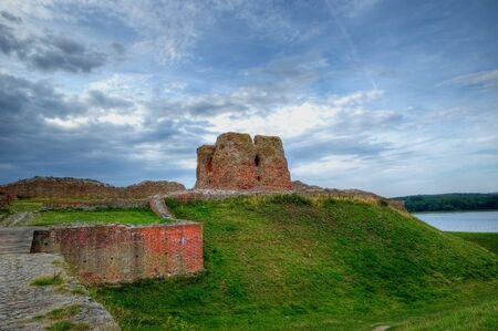 danish castle Kalo known from 14th century near Aarhus