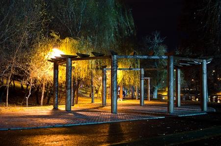 City landscape capture at nighttime Stock Photo - 14701324