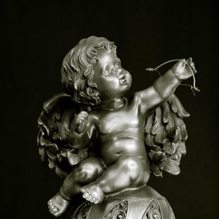 Cupid statue photo