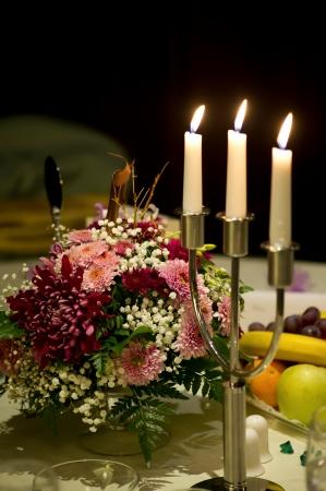 Arrangement wedding photo