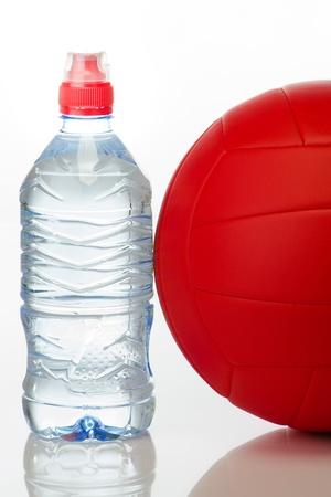 pelota de voley: Con equipos de agua, voleibol