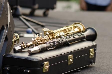 Clarinets ready for jazz