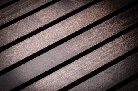 Brown wooden surface diagonally presented  photo
