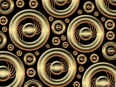 pattern  in the manner of  several spherical objects   Stock Photo