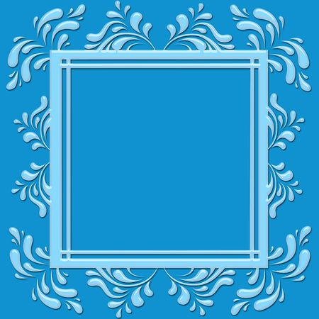 pattern  in the manner of  frame