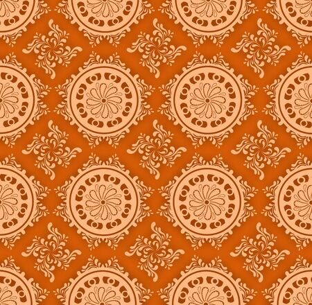 unusual pattern consisting of several  small elements