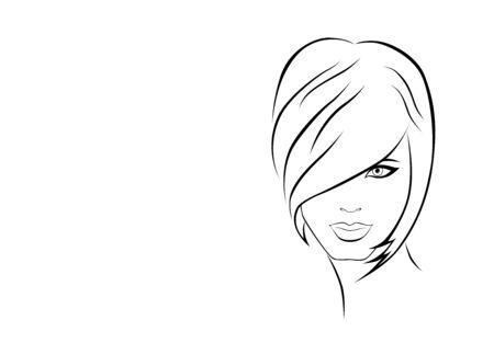 comb hair: illustrazione della ragazza