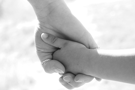 Holding Hands Stock Photo - 9576124