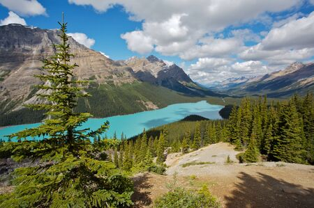 timelapse: Peyto Lake in the Canadian Rockies