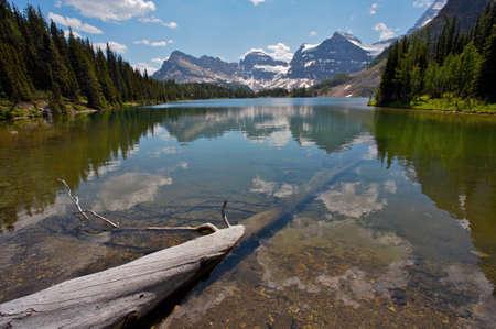 assiniboine: Sunburst Lake in Assiniboine Provincial Park, British Columbia, Canada