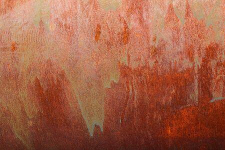 tarnish: Rust on old textured metal