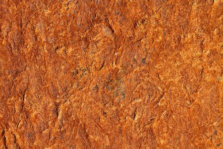 tarnish: Rust on old, dented and textured metal