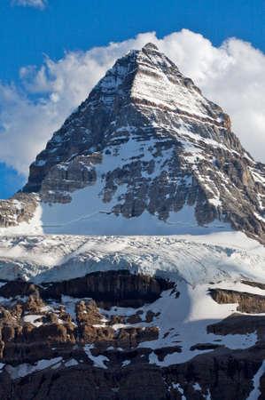 assiniboine: Mount Assiniboine, Rocky Mountains Stock Photo