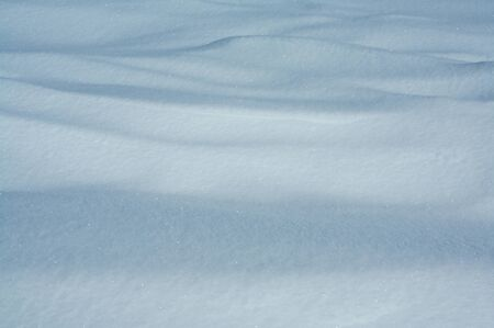 Wind patterns in freshly drifted snow