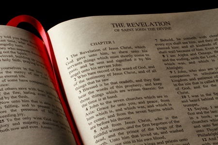 Chapter 1 of the Book of Revelation in the New Testament of the Holy Bible