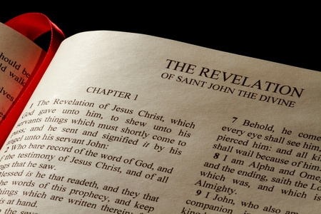 book of revelation: Chapter 1 of the Book of Revelation in the New Testament of the Holy Bible