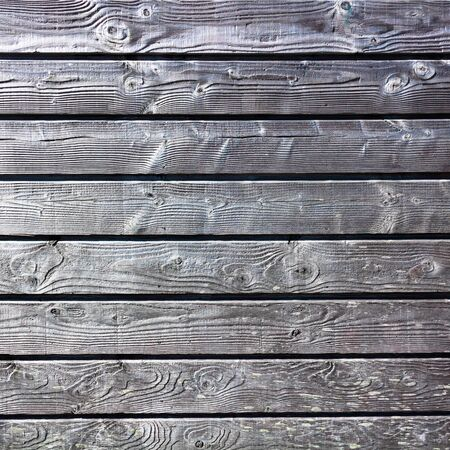 wall gray wooden texture with horisontal lines Stock Photo