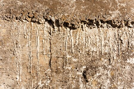 old cement background texture wall with stains Stock Photo