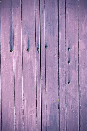 vertical lines: Painted violet wooden texture with vertical lines Stock Photo