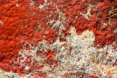 abstract red concrete industrial background texture photo Stock Photo