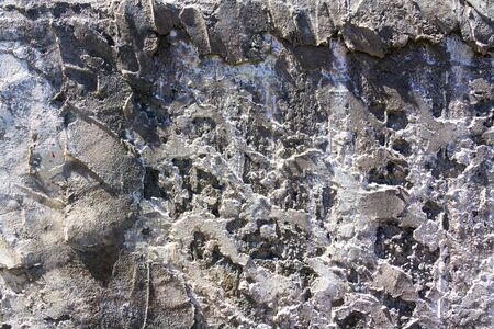 abstract gray concrete background texture old wall with stains photo