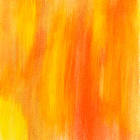 yellow and orange art painted texture image Stock Photo
