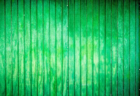 vertical lines: green painted wooden background with vertical lines Stock Photo