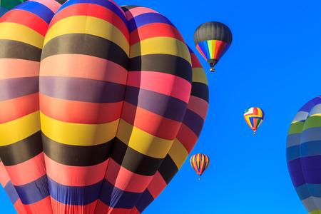 colored air balloon, location - Wellington, North Island, New Zealand