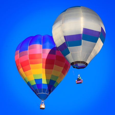 colored air balloon, location - Wellington, North Island, New Zealand