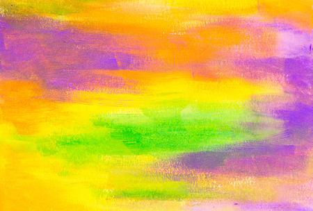 green, blue and orange beautiful painted texture background