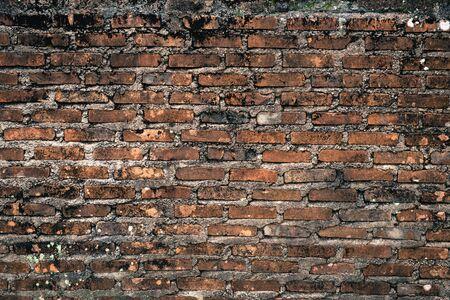Background of old brick wall texture Standard-Bild