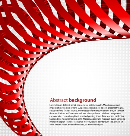 Abstract red background Stock Vector - 12918054