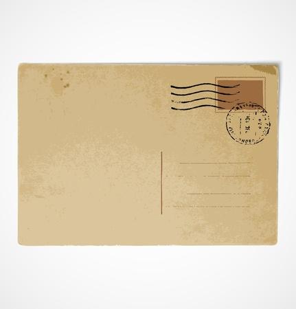 postal vintage: Volver Antiguo postal del vintage