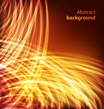 abstract fire: Abstract background Illustration