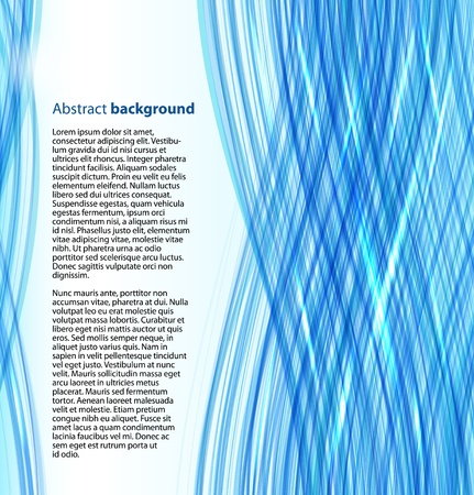 cover art: Blue abstract business background