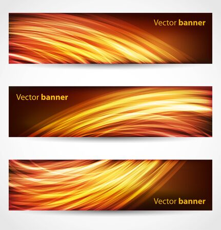 abstract fire: Banners and headers abstract background