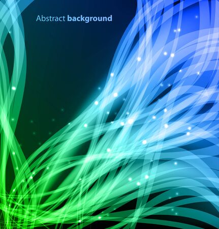 decorative lines: Abstract Background
