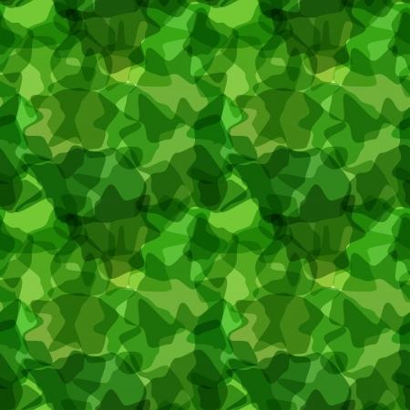 nato: Seamless pattern green camouflage. illustration Illustration