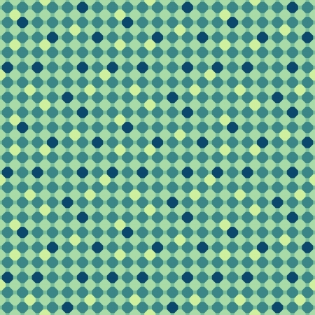 Abstract blue geometric seamless pattern. illustration Vector