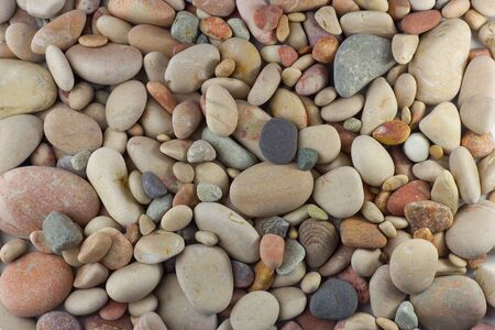 Background from sea pebbles photo