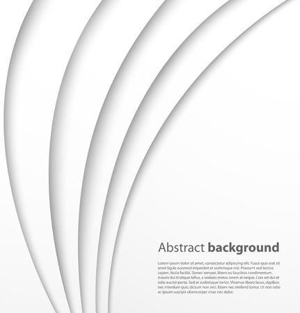 Papier Hintergrund mit Schatten Vector background Standard-Bild - 17061578