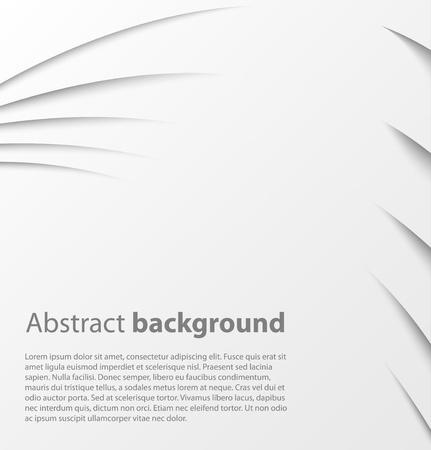Papier Hintergrund mit Schatten. Vector background Standard-Bild - 18386882